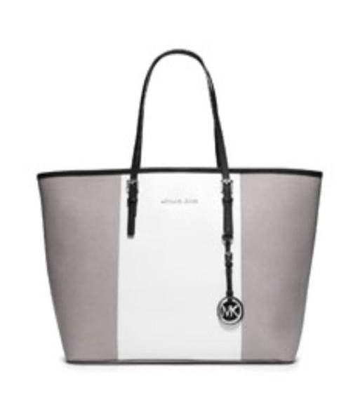 grey bag michael kors handbag