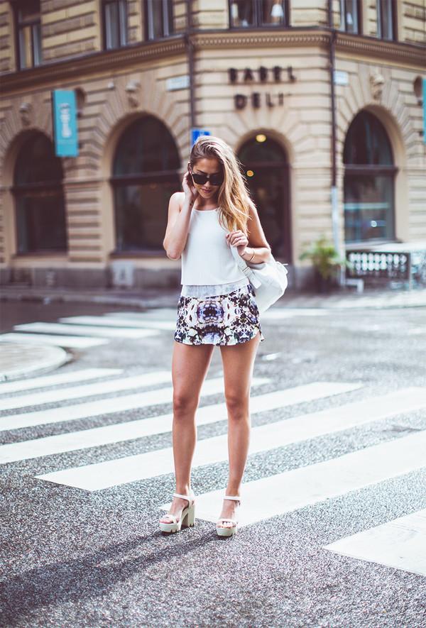 kenza top bag shoes sunglasses