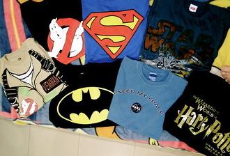 shirt nasa star wars nerd t-shirt ghost busters t-shirt ghost busters harry potter hp superman ineedthese supersuperman super hero superheroes