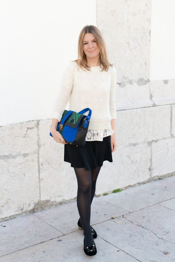 the working girl bag sweater t-shirt shoes coat jewels