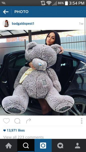 home accessory teddy bear grey oversized teddy bear huge bear cute giant teddy bear