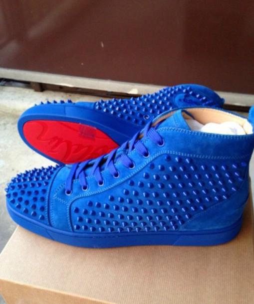 Louis vuitton sneakers for men blue
