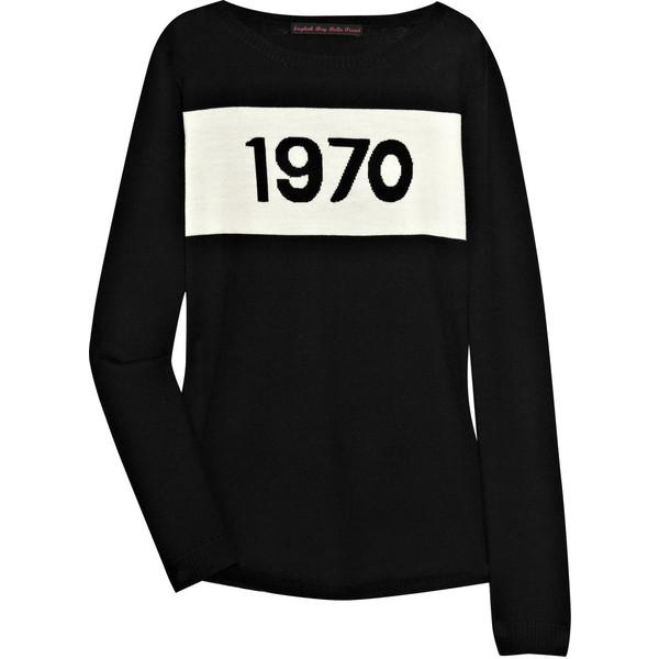 1970 intarsia wool sweater