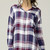 Plaid Oversize Button Down Shirt