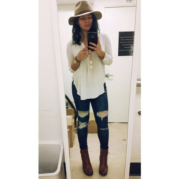 7a77689e0d7 jeans angl ripped jeans dark denim spring outfits summer outfits california  boho festival coachella hippie instagram