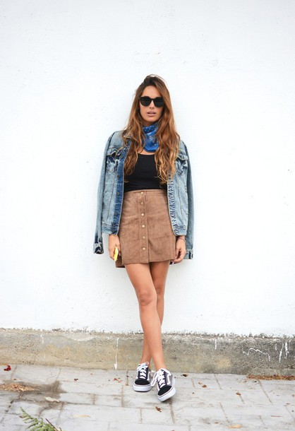 1496b670e stella wants to die, blogger, skirt, shoes, t-shirt, jacket ...
