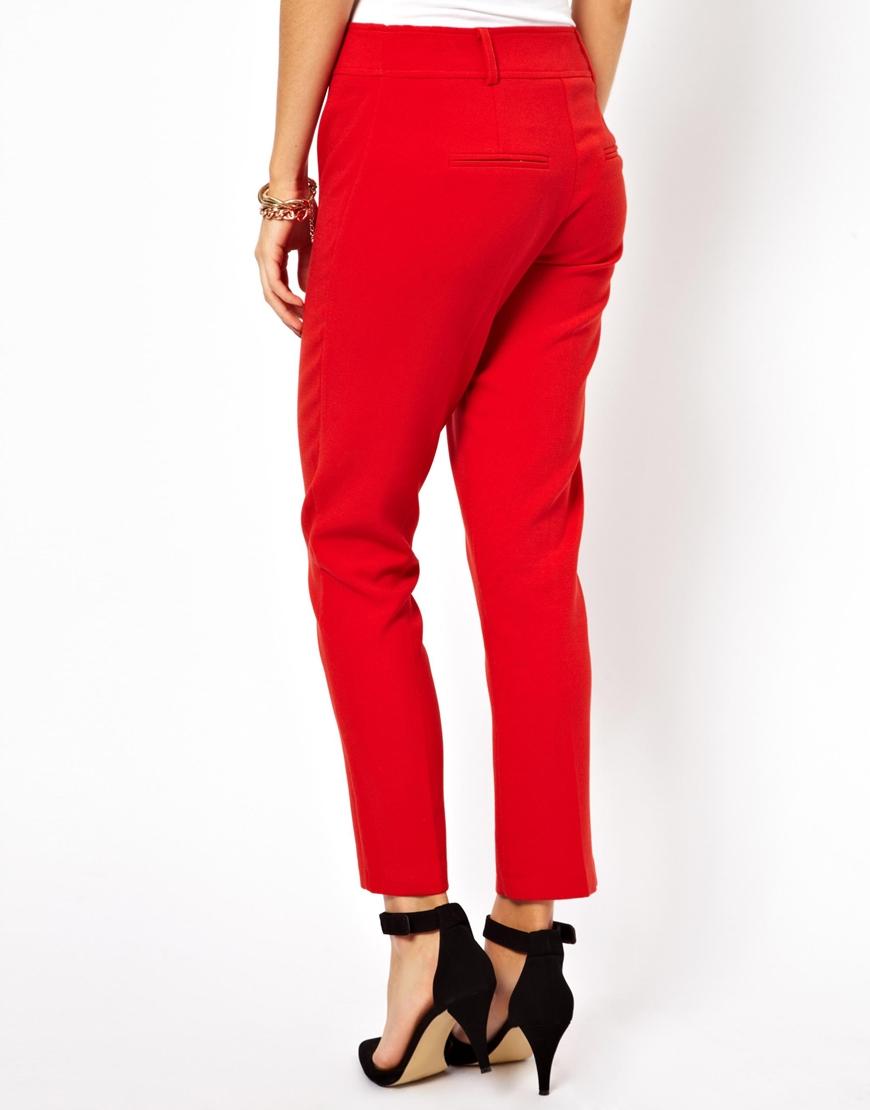 Closet 3/4 length trousers at asos.com