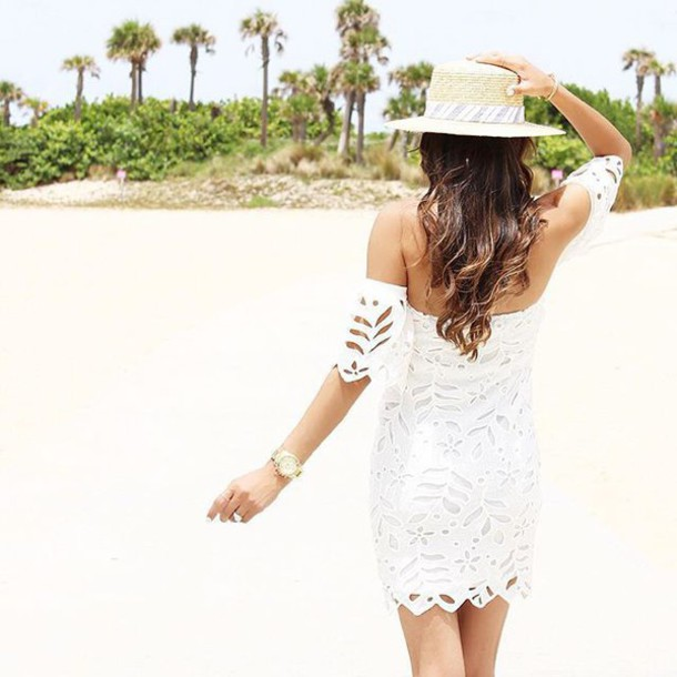 fec55ec41 dress lace lace dress white lace dress white lace off the shoulder off the shoulder  dress