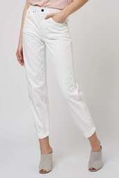 jeans,topshop,white,white denim,white jeans,boyfriend jeans,white boyfriend jeans