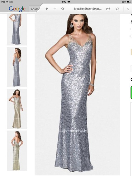 dress glitter rhinestones prom dress prom gown prom dress