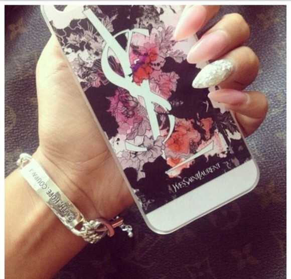 nail polish nails art phone case