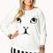 Sweet cat sweatshirt | forever21 plus - 2000111773
