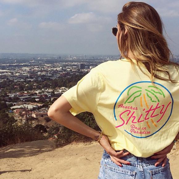 california vintage yellow