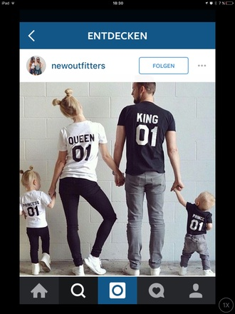 shirt sweet king and queen matching couples