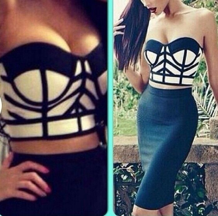 Women rayon bandage dress fashion 2pcs top&skirt sets Party Dress HL354