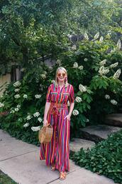 style archives | the style scribe,blogger,tank top,dress,cult gaia bag,maxi dress,striped dress
