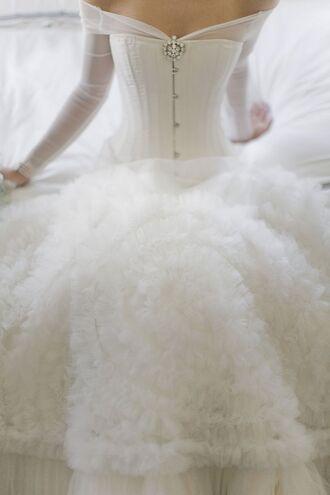 dress wedding wedding dress bridal gown bride brides dress princess princess dress princess wedding dresses