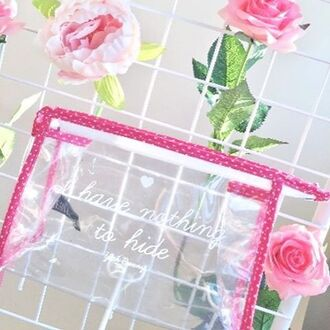 make-up yeah bunny bag accessories