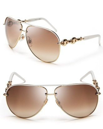 sunglasses gucci aviator sunglasses chain