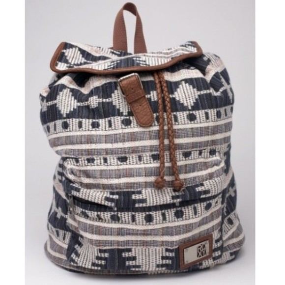 printed bag aztec