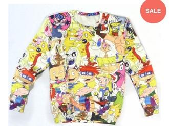 sweater cartoon 90's shirt 90s style