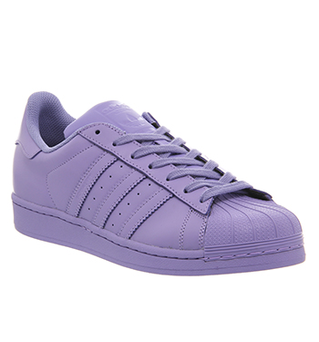 100% top quality best wholesaler new product Adidas Superstar 1 Pharrell Supercolor Light Flash Purple - His ...