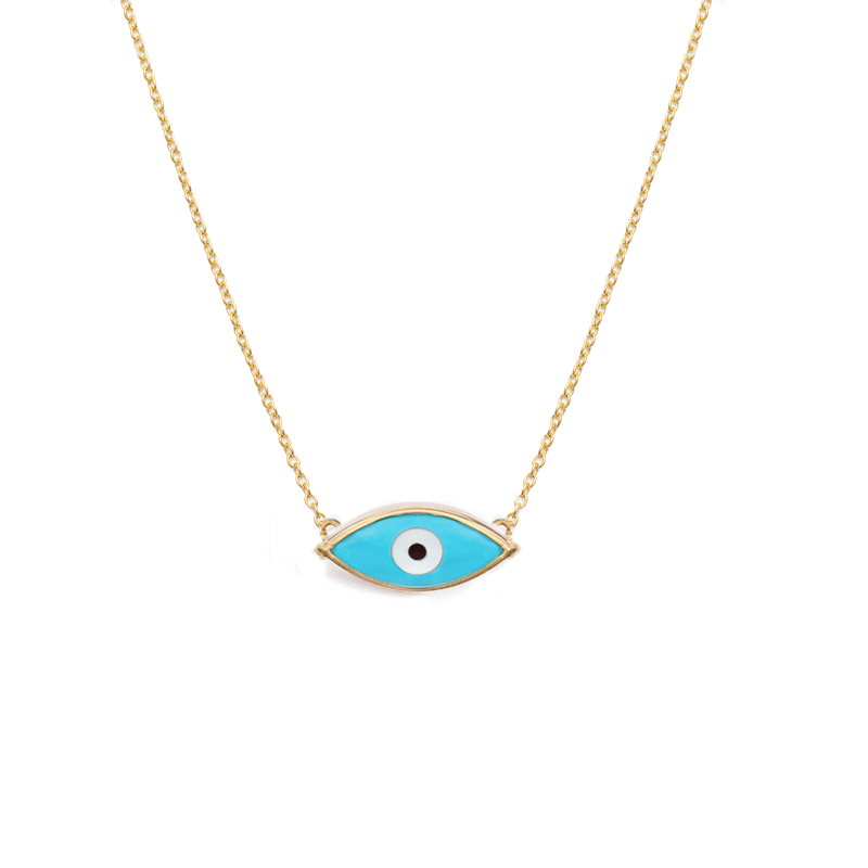 Evil eye necklace Blue 0dd9fdf5e1