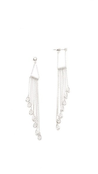 clear earrings jewels