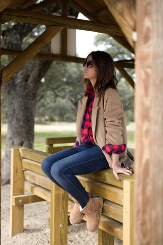 lovely pepa blogger shirt coat jeans shoes bag sunglasses
