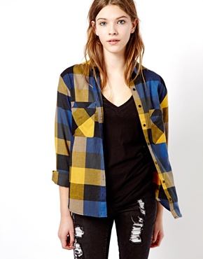 Pull&Bear | Pull&Bear Check Shirt at ASOS