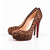 leopard bianca christian louboutin pumps 140mm