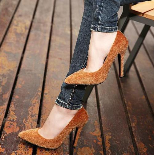 The untouchable stilettos