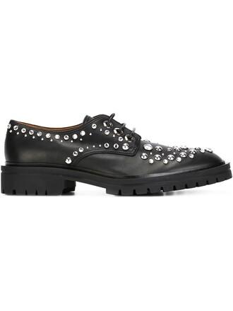 embellished shoes black