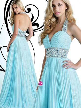 dress prom dress blue long prom dress prom prom gown evening dress long dress