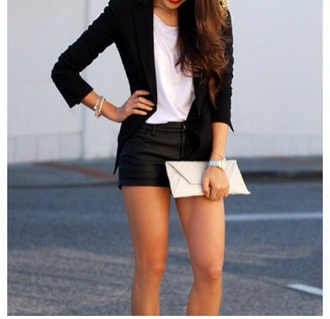 jacket black black blazer blazer