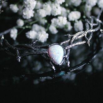 jewels shop dixi choker necklace opal necklace jewelry boho bohemian