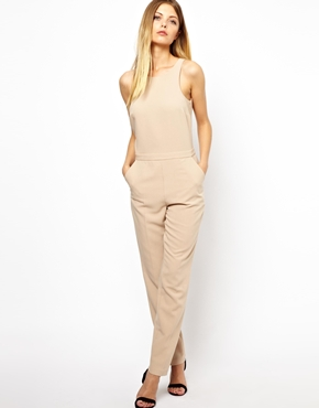 ASOS | ASOS Jumpsuit with Chic Racer Detail at ASOS