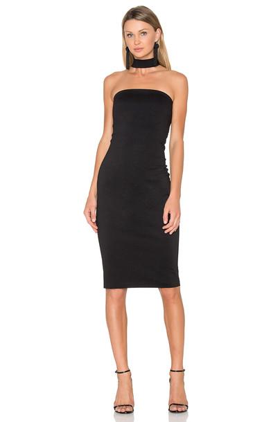 Amanda Uprichard dress black