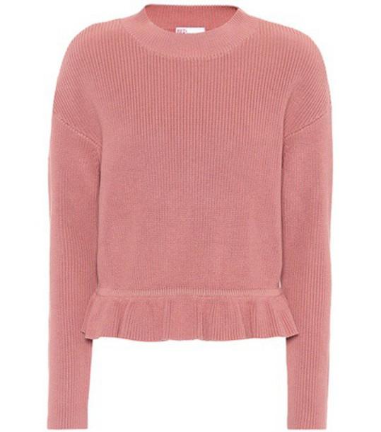 REDValentino sweater cotton pink