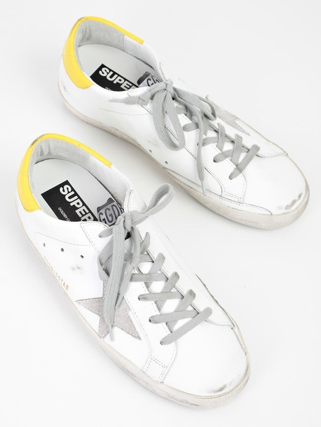 Golden goose sneakers yellow shoes