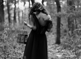 dress black black maxi dress long dress flowy fairytale forest beautiful sleeveless long black dress enchanting maxi dress