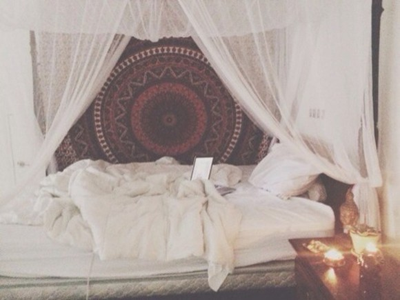 boho tapestry bedding home decor