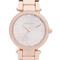 Michael kors mini parker watch - rose gold/silver/floral