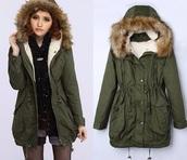 camouflage,parka,khaki,coat