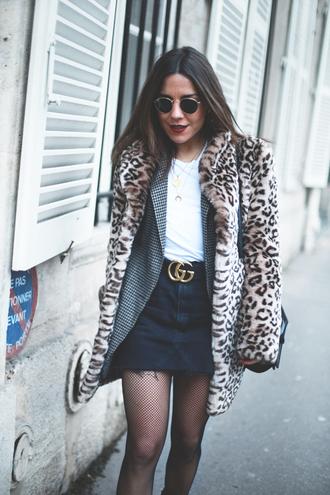 mypeeptoes blogger coat skirt t-shirt jacket shoes bag jewels sunglasses belt