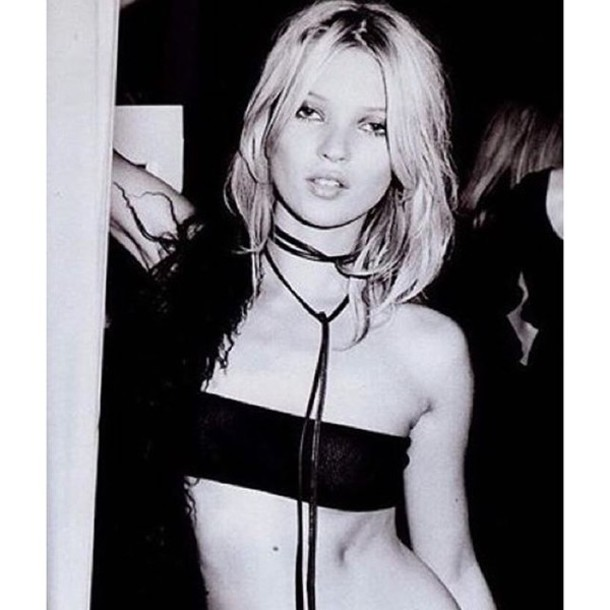 jewels jewel cult jewelry kate moss model model off-duty celebrity style celebrity celebstyle for less necklace choker necklace wrap necklace black black choker grunge grunge jewelry boho boho jewelry bohemian