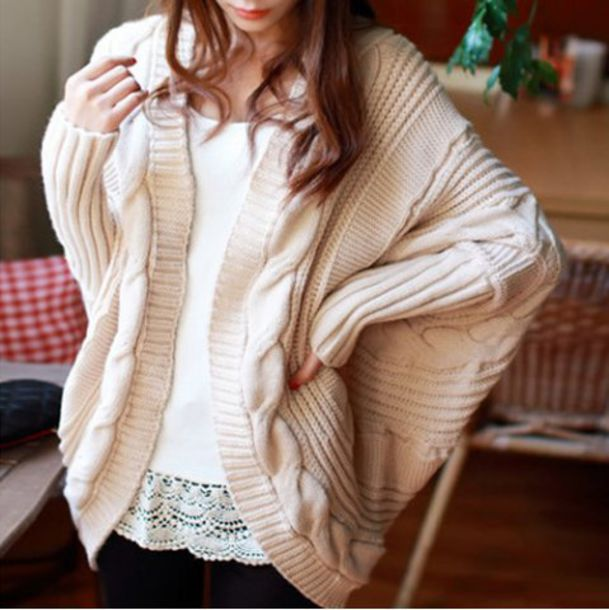 Cardigan: sweater, cozy, warm, cute, nude, beige, fashion, style ...