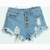 *free Ship* Rip Denim Shorts on Luulla