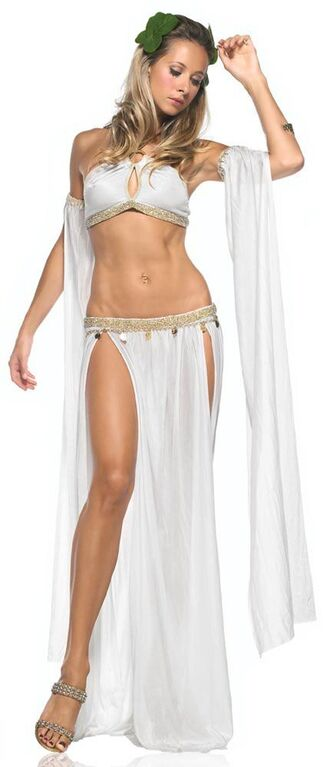skirt top halloween halloween costume costume greek ancient greek vintage ancient greek fashion aphrodite aphrodite dress long-sleeve lace-godet jersey dress dress white dress godess of love angel angelic sequins gold sequins roman ancient rome