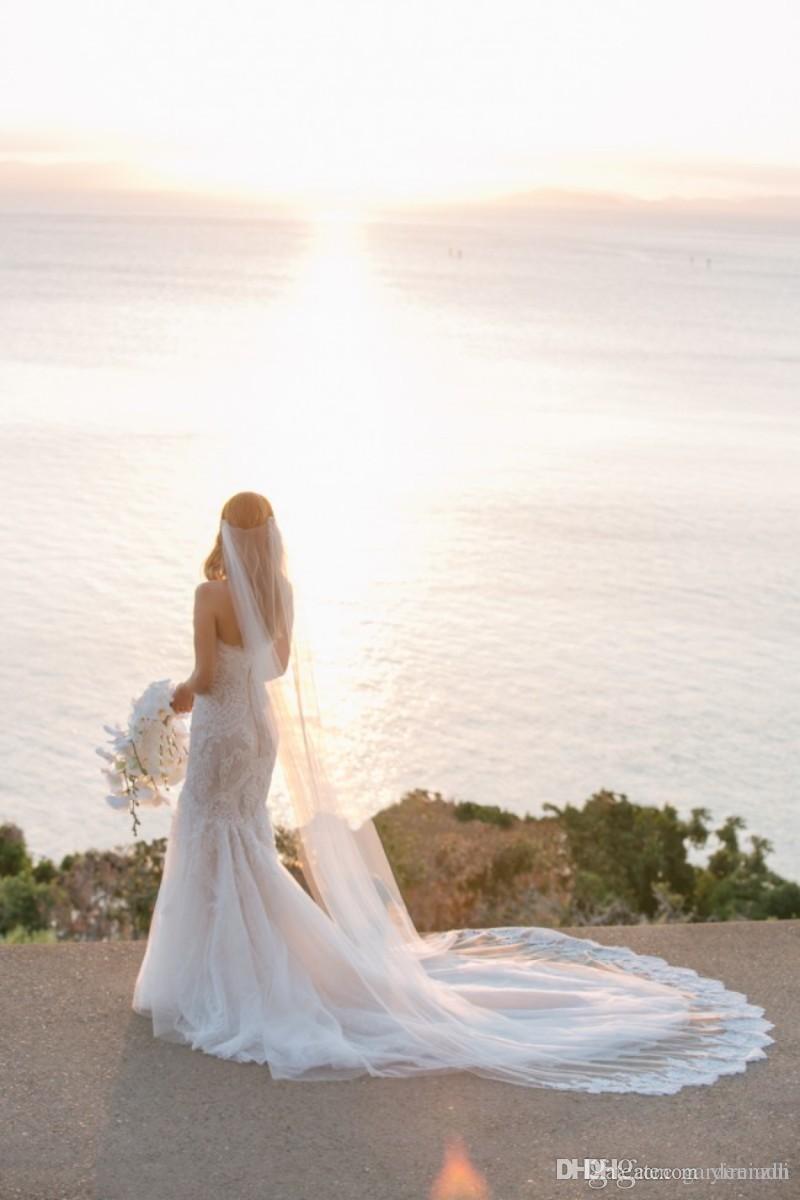 Steven Khalil Mermaid Wedding Dresses Blush Trumpet Sweetheart Lace ...